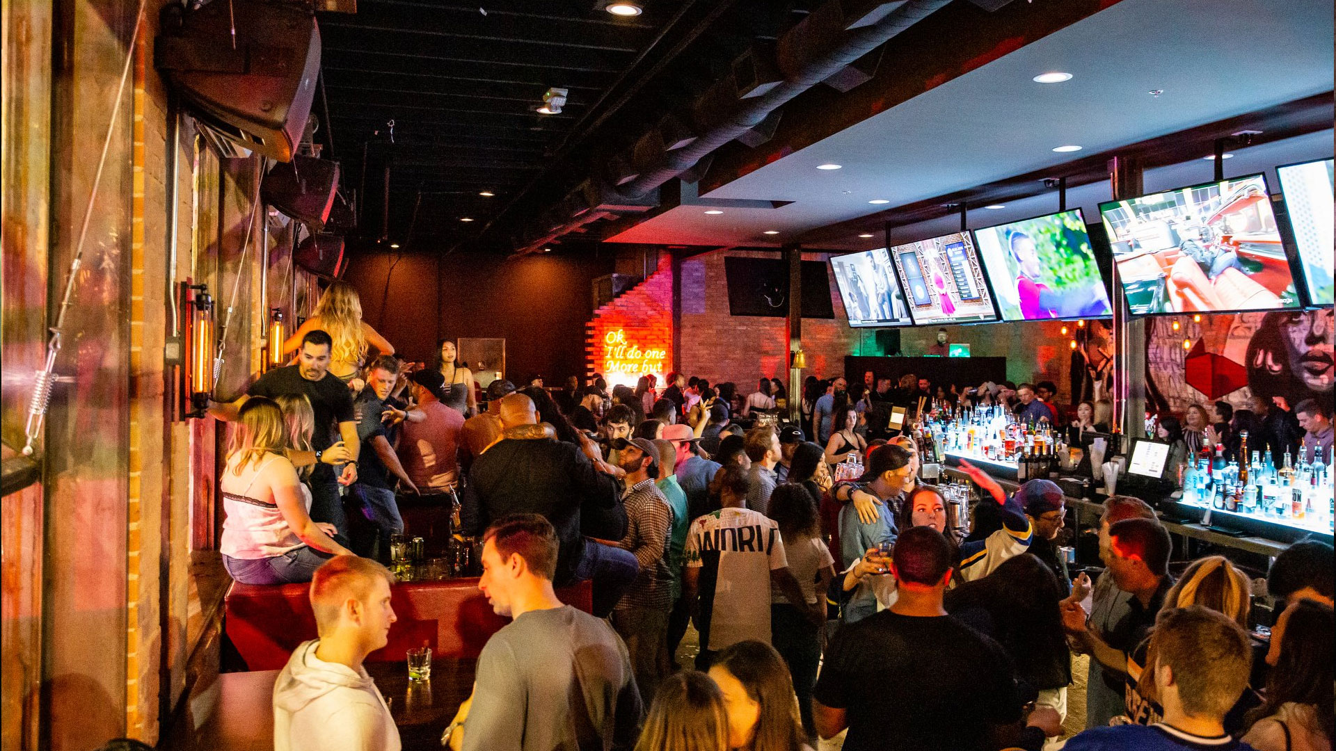 sports bar in Deep Ellum
